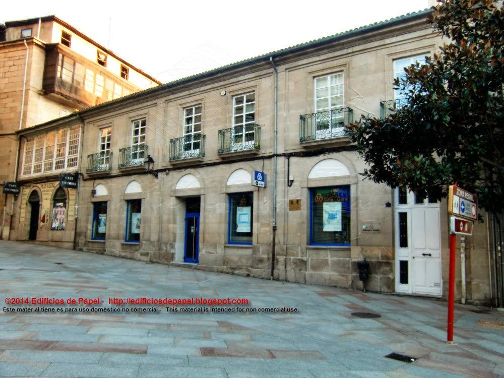 Pontevedra Avenue in Ourense (Spain)