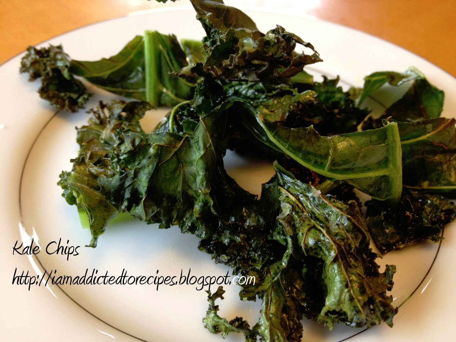 Kale chips Recipe - Tales of a Ranting Ginger