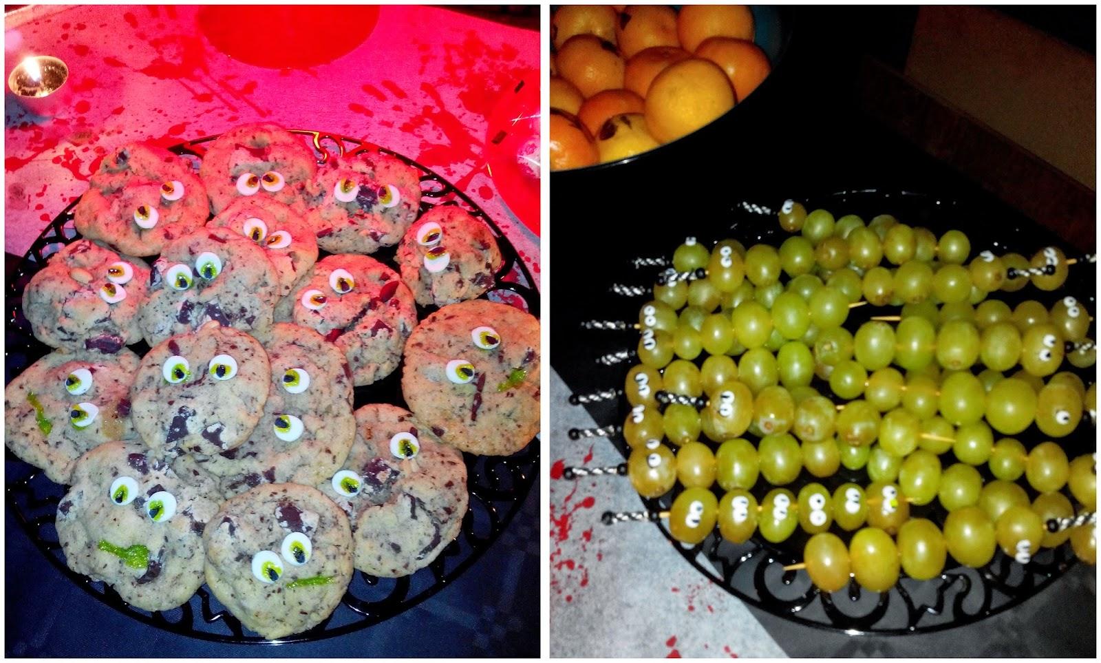 cookies, raisins, halloween, bullelodie
