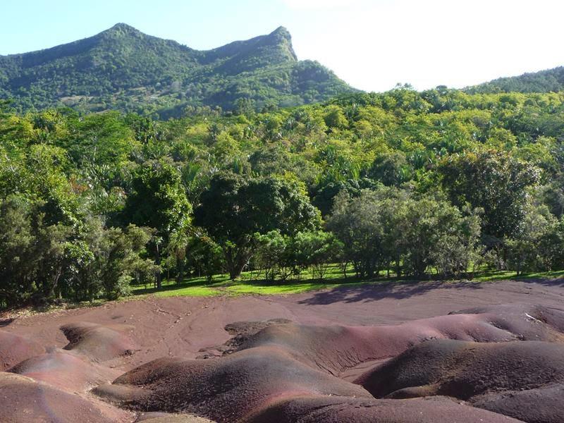 Les sept couleurs de la terre de Chamarel
