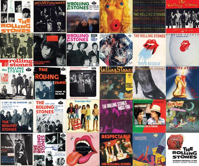 Rollingstonesvaults Discografia Portuguesa A 45 Rpm