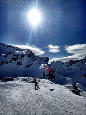 Amazing conditions in Verbier, Switzerland