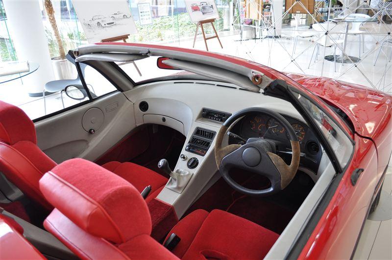 Duo 101, interior, prototype, concept, wersja, MX-5, Mazda, V705