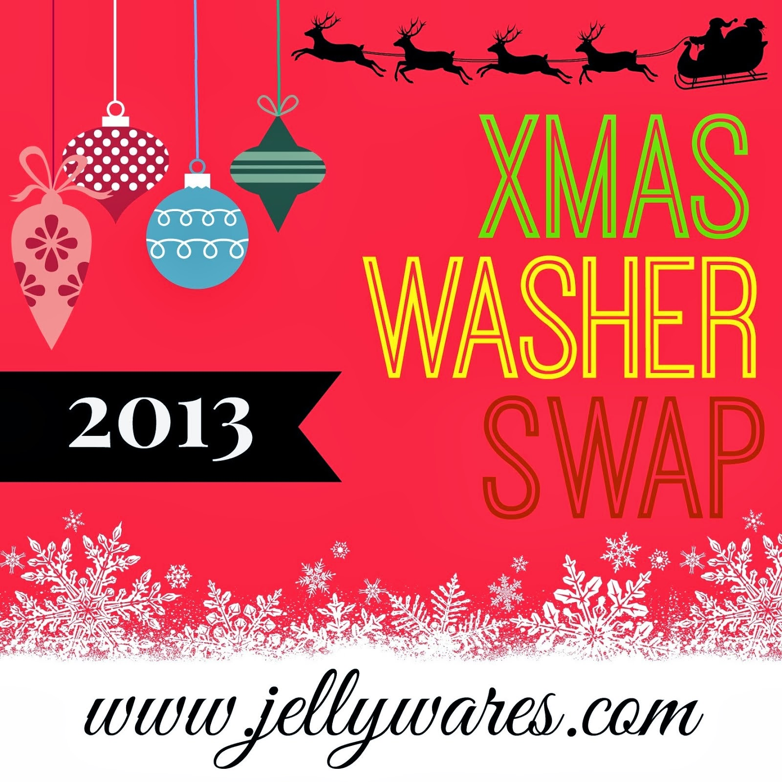 Christmas Washer Swap 2013