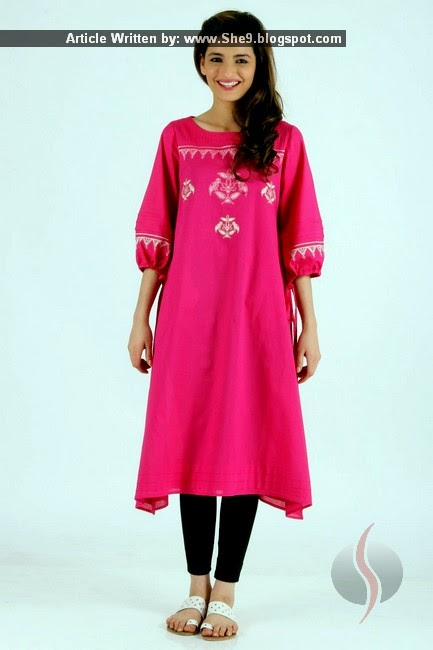 Ego Lawn Kurti for Girls