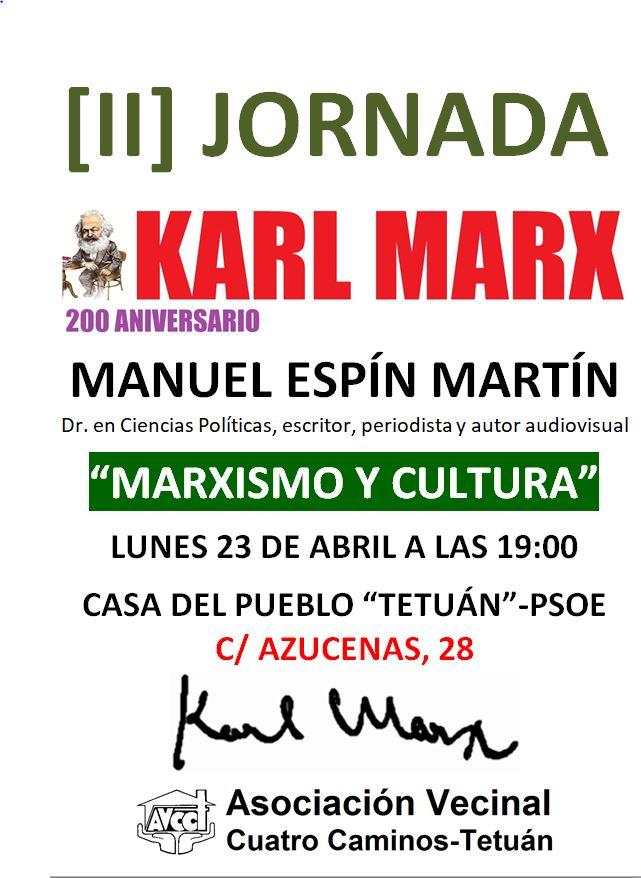 23 abril   Marxismo y Cultura