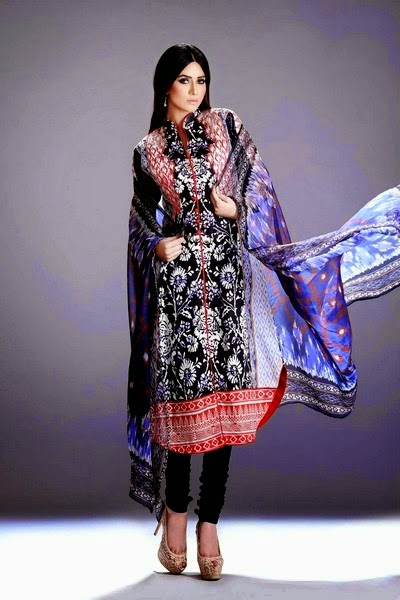 Elegant Printed Eid Dress Collection