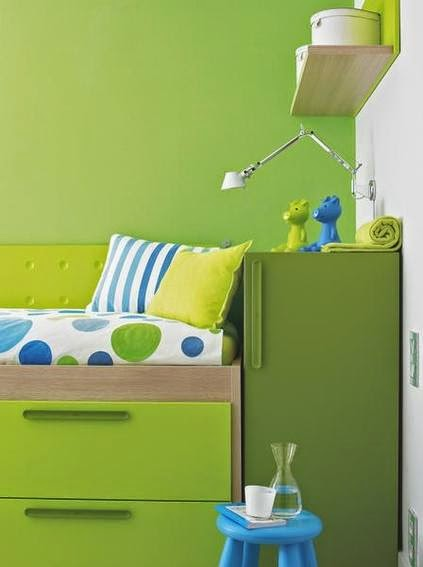 Children's bedrooms with bathroom