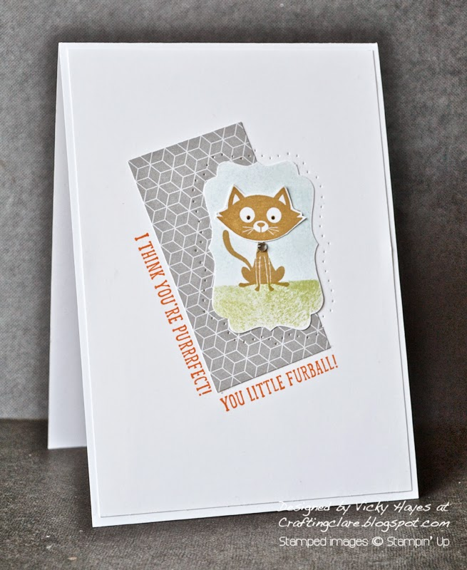 Buy You Little Furball by Stampin' Up online from UK Stampin' Up demo Vicky Hayes