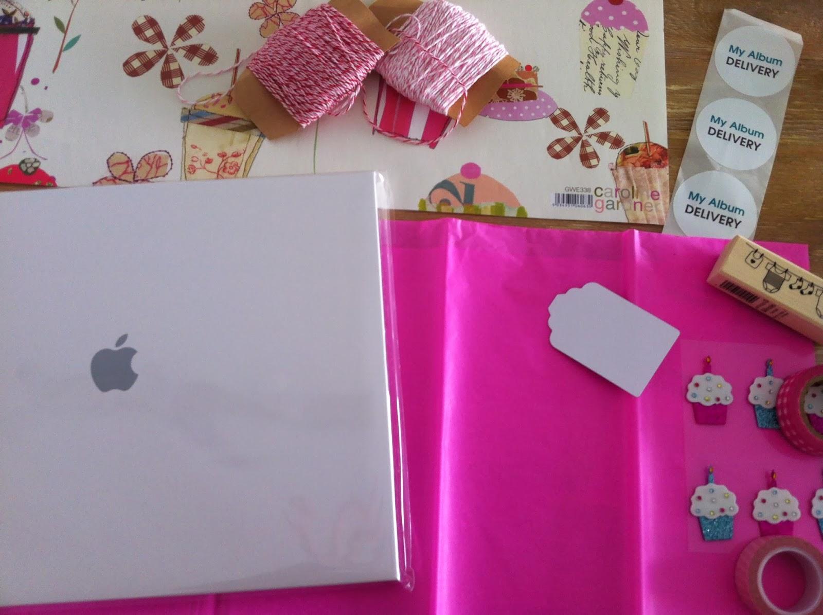 Album de fotos infantil-Ideas para envolver tus regalos