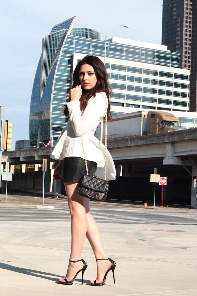 Kim k inspired white dress