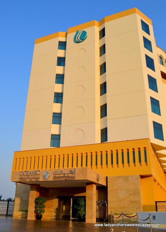 newly refurbished Oceanic Hotel in Khorfakkan