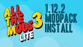 HOW TO INSTALL<br>All the Mods 3 Lite Modpack [<b>1.12.2</b>]<br>▽