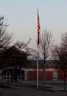 Moon over West Shore