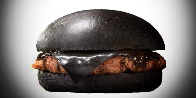 Έρχεται το… κατάμαυρο burger!