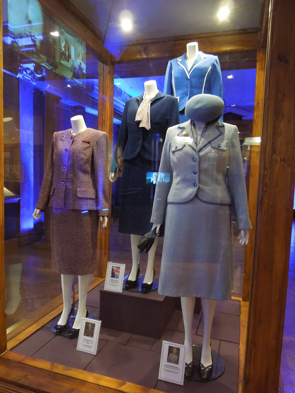 Iron Lady movie costume exhibit