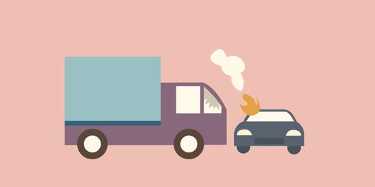 Istirahat Saat Mobil Mogok, Ibu Dan 3 Anak Tewas Terlindas Truk