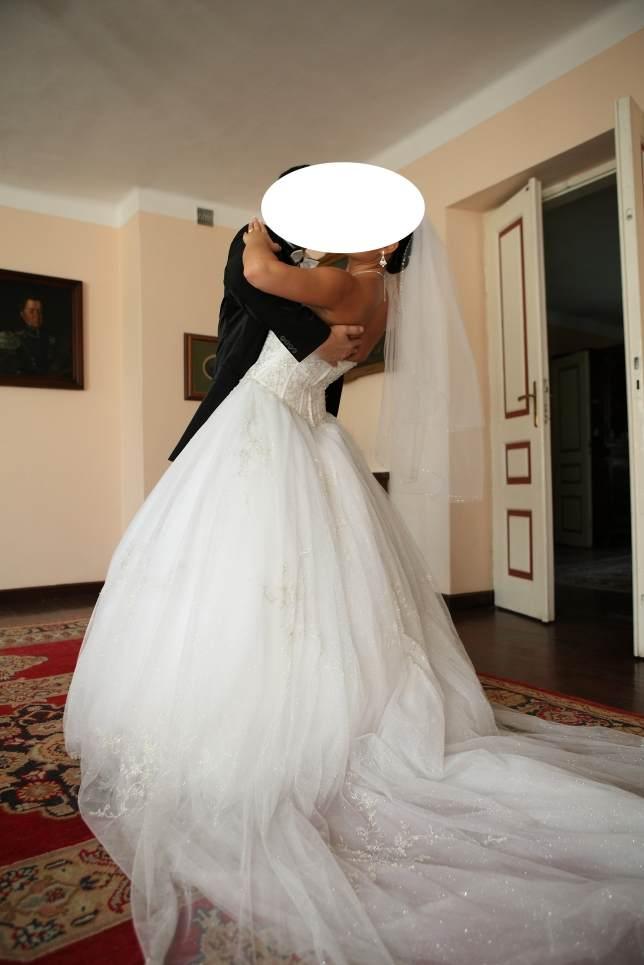 Suknie ślubne Vestido Suknia ślubna W Fasonie Księżniczki