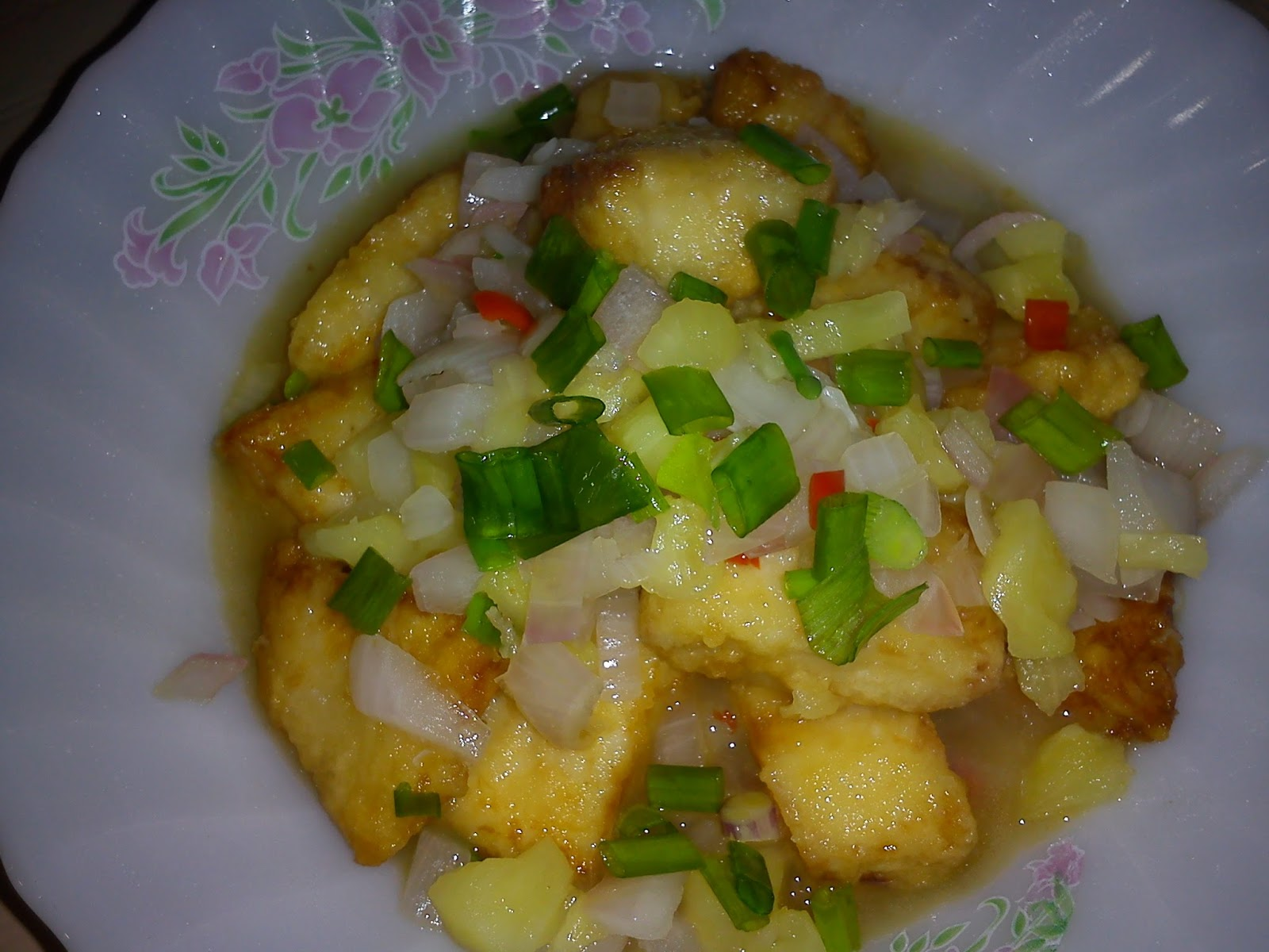 Cooking pleasure fried fish fillet with pineapples for Cooking fish fillets