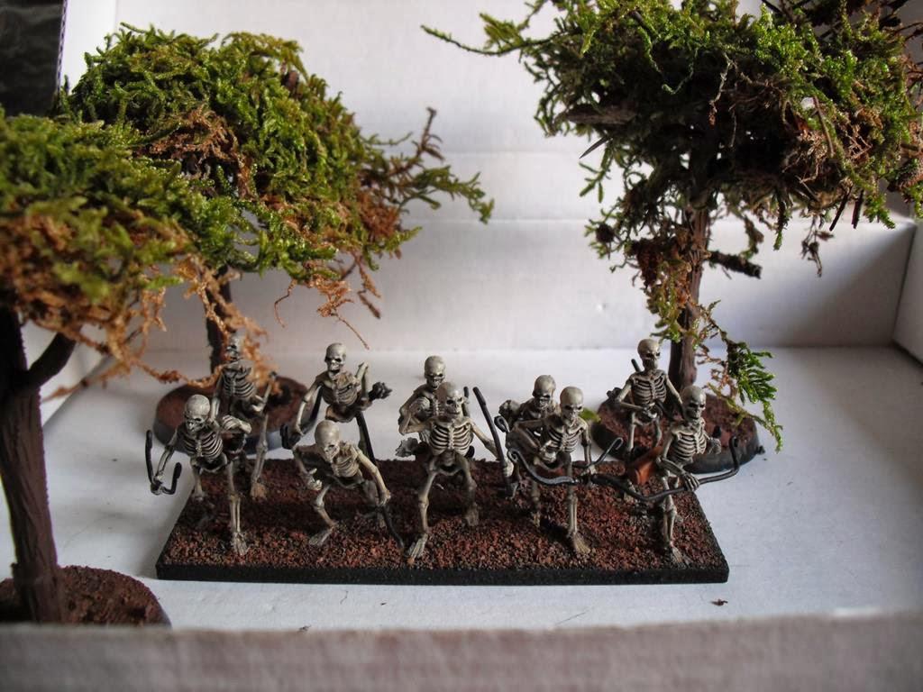 Mis Olvidadas Figuras: El Refugio del Friki: Chapuzas: Árboles baratos y ...