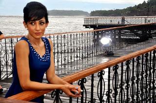 Miss Srilanka Chandi Perera with Ajay Devgan Rare Photos