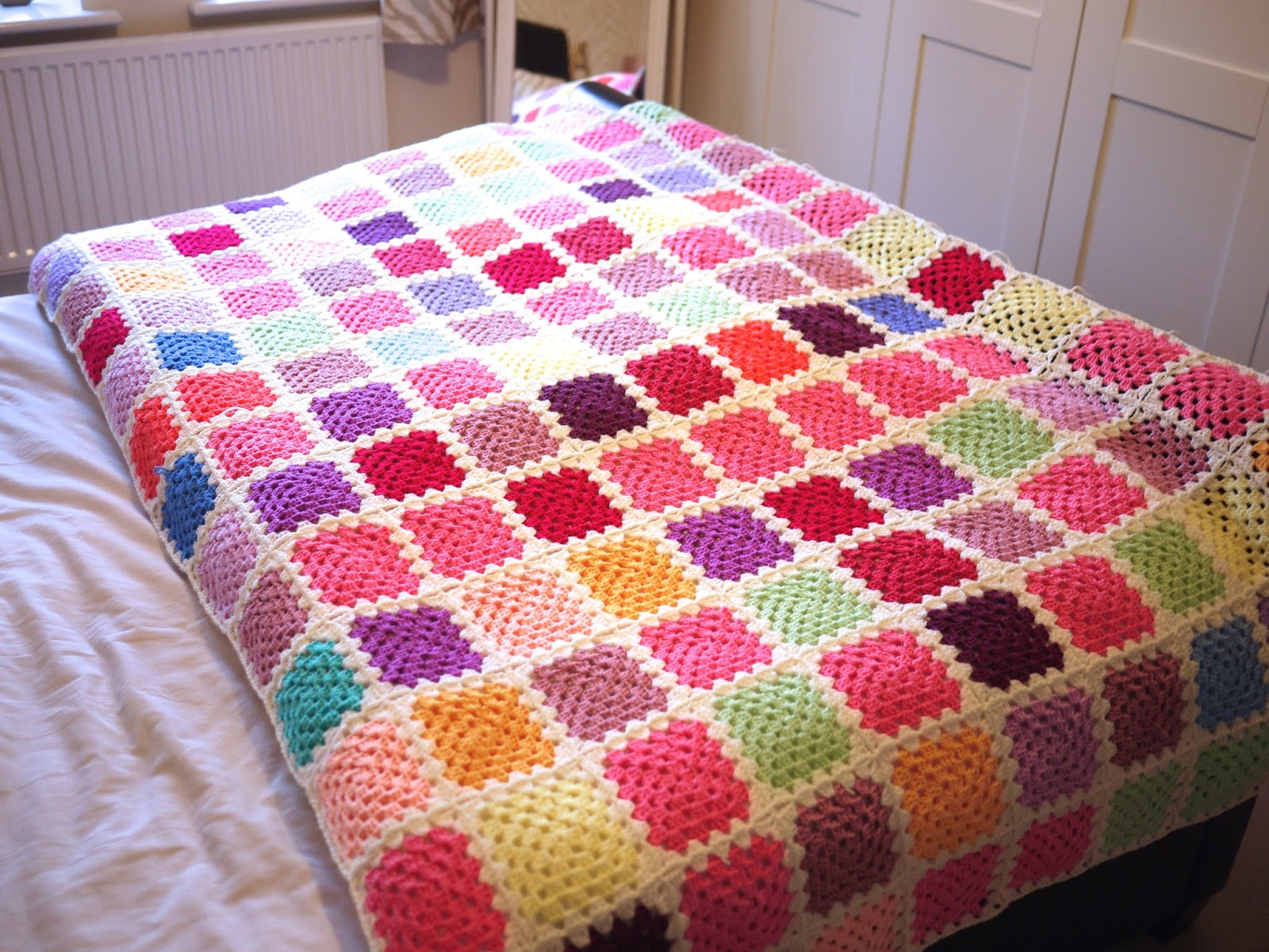 Crochet mood blanket 2014 - Bella Coco by Sarah-Jayne