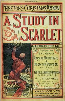 Primera edición de Estudio en Escarlata