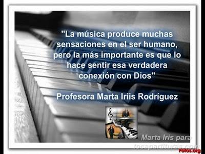 18. Conexión de Dios 10 Reflexiones, frases y pensamientos musicales por la Profesora Marta Iris Rodríguez Números 11-20