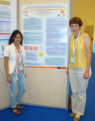my poster presentation in Barcelona!