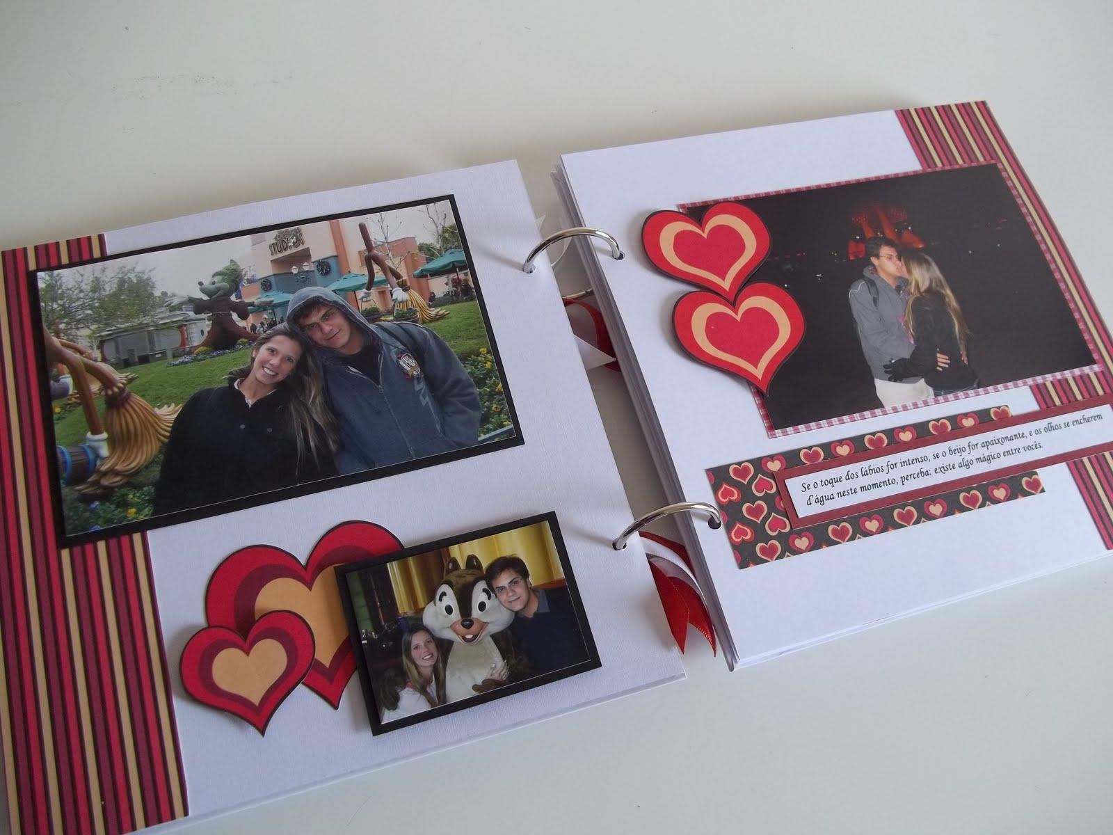 Bruna cheles lbum personalizado namorados - Album de fotos personalizado ...