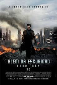 """Poster do filme """"Além da Escuridão - Star Trek"""""""
