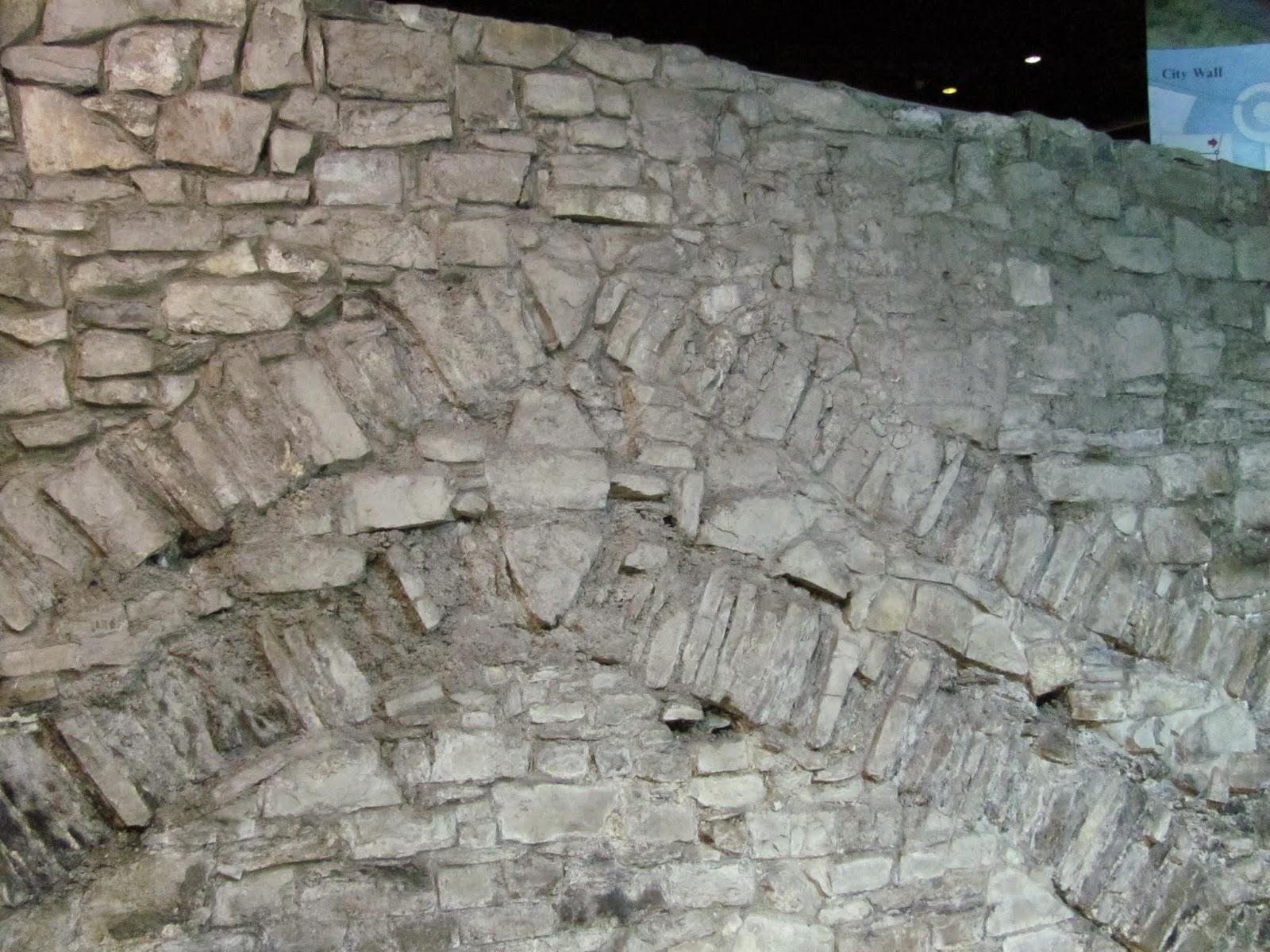Dublin City Wall and Keystone