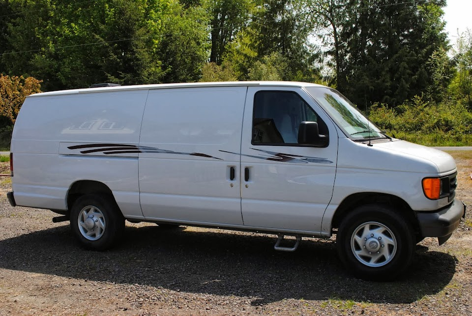 2007 Ford Van Converted Camper