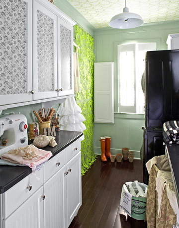belle maison: Idea Gallery: Stylish Laundry Rooms