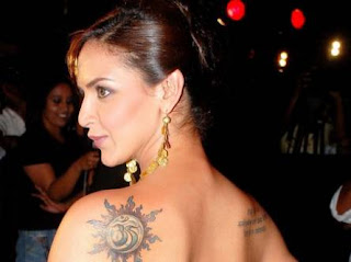 Bollywood Actress Esha Deol Tattoos