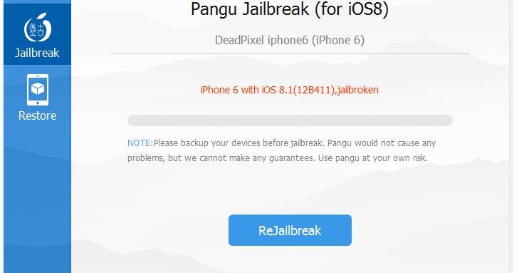 Download Alat Jailbreak Pangu 1.2.0 iOS 8/8.1 Untethered ...