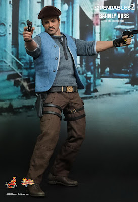 Hot Toys Expendables 2 Barney Ross figure