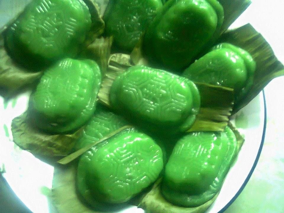 Resep Kue Ku / Kue Kura Kura Isi Kacang Hijau Enak