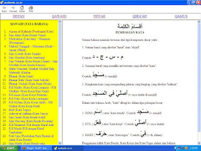 Download Arabindo Software Mudah Belajar Bahasa Arab