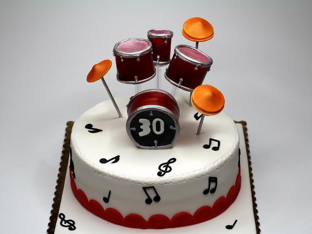 Birthday Cake for Drummer , London