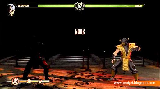 Mortal kombat секрет