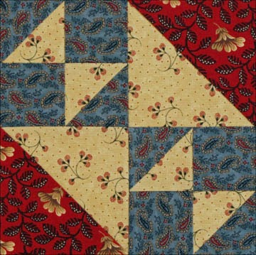 Civil War Quilts 14 Fox And Geese