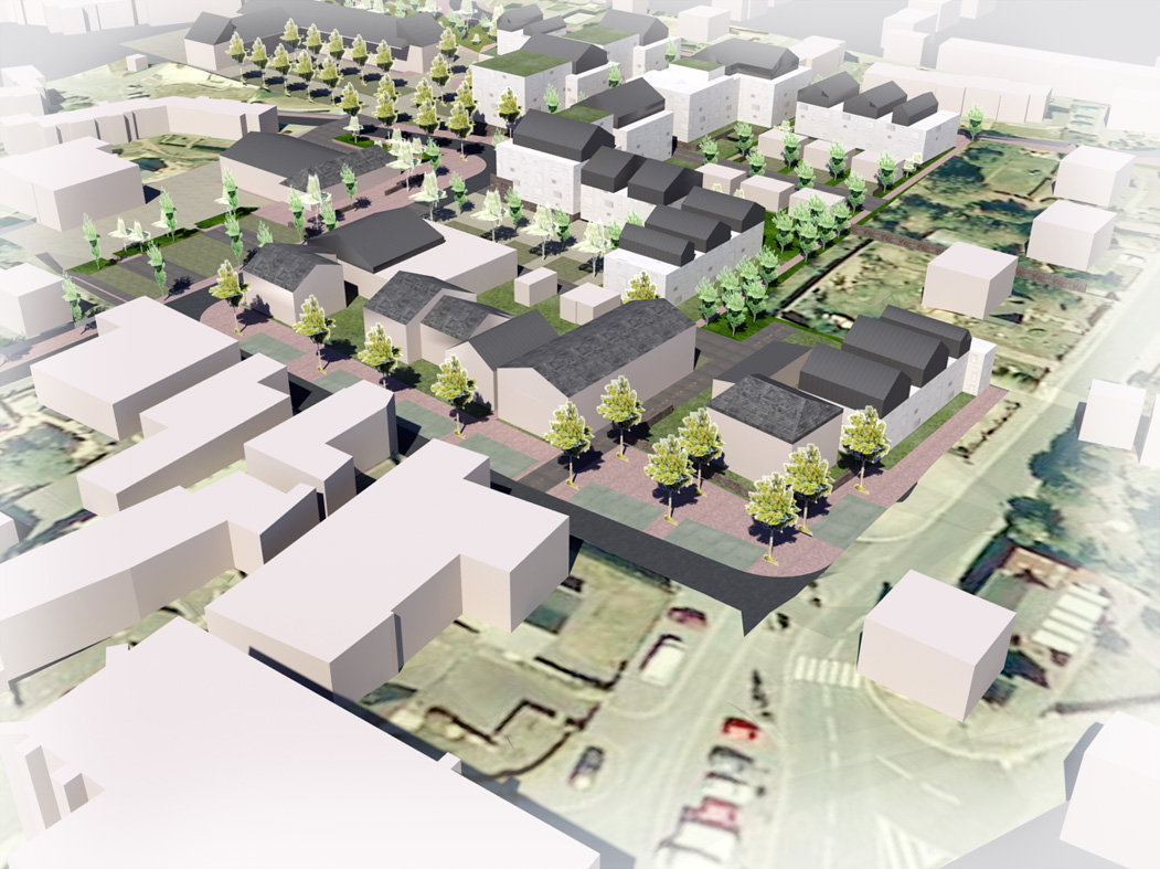 Avenue etude pr op rationnelle d 39 am nagement et de for Projet architecture pdf