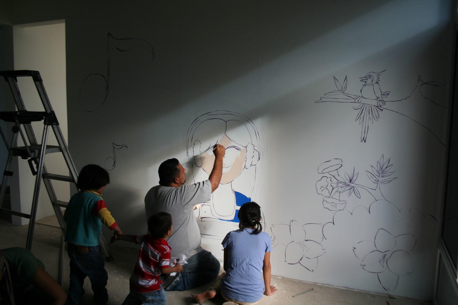Mural Decorativo Mural Decorativo Hacer Un Mural Decorativo Con  ~ Murales Decorativos Para Habitaciones De Adultos