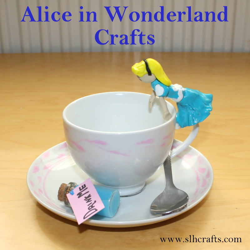 Slh crafts alice in wonderland crafts Alice and wonderland art projects