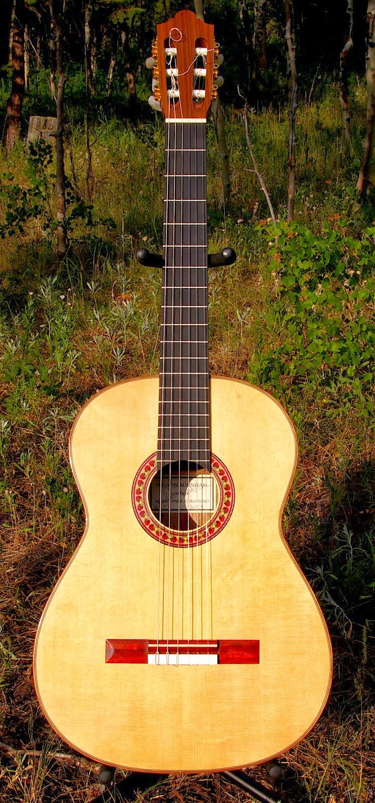 For Sale: Sitka Spruce/Black Walnut Robert Bouchet Model