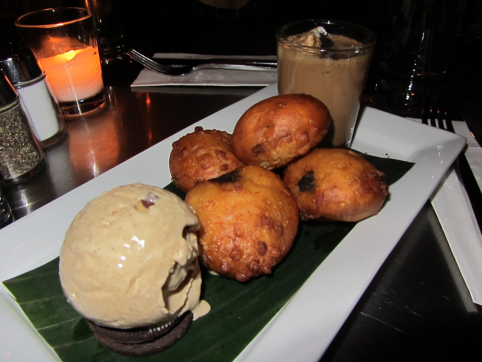 Deep Fried Oreos espresso chip ice cream, coffee shake shot at ...