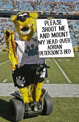 Jaxson de Ville funny NFL Jacksonville Jaguars
