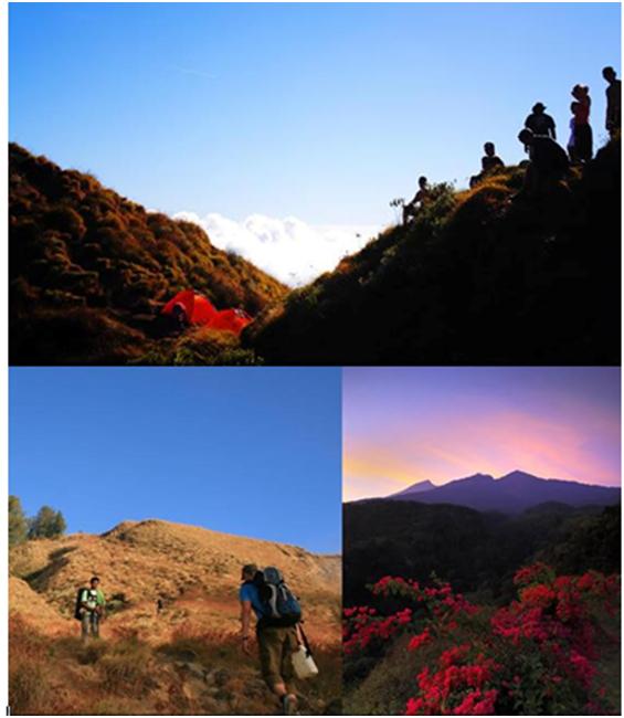 Rute Pendakian Gunung Rinjani