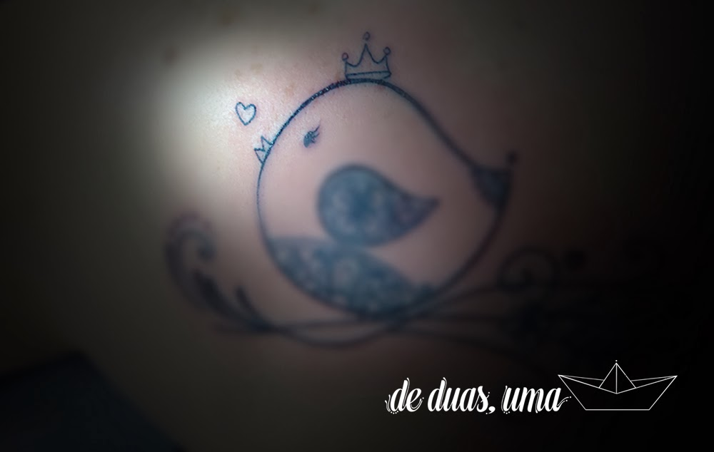 cute bird tattoo de duas uma astral tattoo